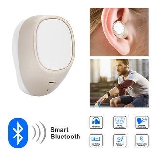 AGPtek Mini Headset Earphone Earbud Earpiece with Wireless Bluetooth Stereo (One PCS)