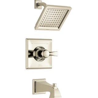 Delta T14451  Dryden Tub and Shower Trim Package with Single Function Shower Head and Touch Clean Technology