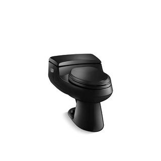 Kohler San Raphael® Comfort Height® One-Piece Elongated 1.0 Gpf Toilet Black Black (K-3597-7)