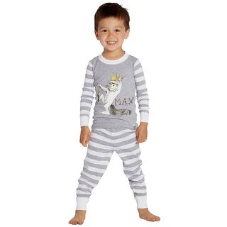 Link to Where The Wild Things Are Boys Toddler Max Cotton Pajama Set Similar Items in Boys' Clothing