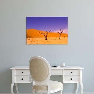 Easy Art Prints Michele Westmorland's 'Skeleton Trees In Dead Vlei' Premium Canvas Art