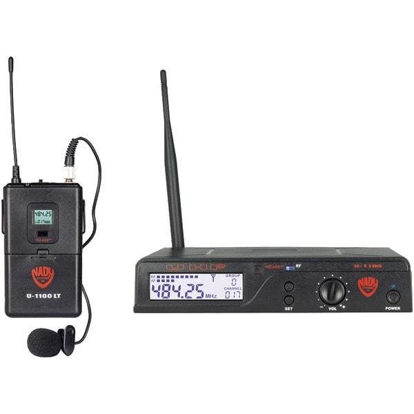 Nady U-1100 Lt/O/A Uhf 100-Channel Wireless Lavalier Handheld Microphone System