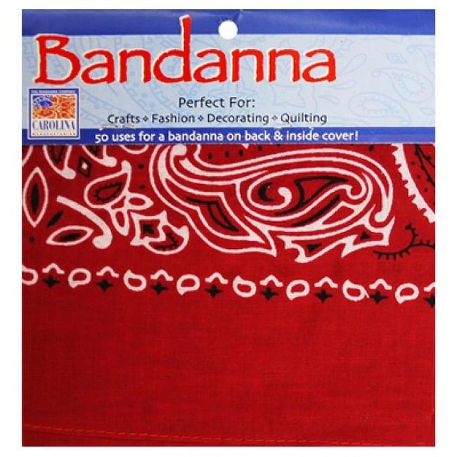 Carolina Manufacturing Paisley Cotton Bandana 22 x 22