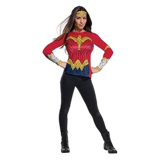 Justice League Movie Wonder Woman Adult Costume Top - Red