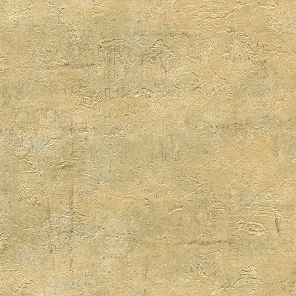 Brewster WD3070 Plumant Gold Faux Plaster Texture Wallpaper - N/A