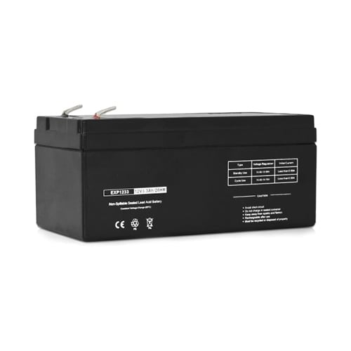 Replacement AGM SLA Battery 12V-3.3Ah (Single Pack) Replacement AGM SLA Battery