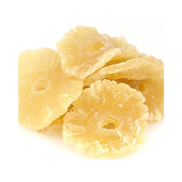Bulk Dried Fruit Pineapple Rings - Unsulphur and Low Sugar - Case of 11 - 1 lb.