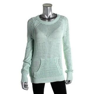 Sanctuary Womens Cotton Marled Tunic Sweater - L