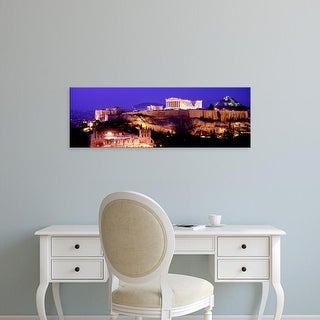 Easy Art Prints Panoramic Images's 'Acropolis, Athens, Greece' Premium Canvas Art