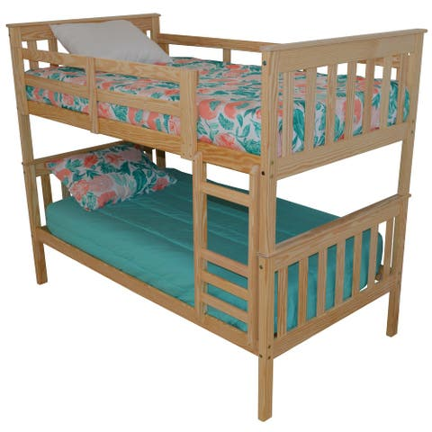 Pine Twin Mission Bunkbed