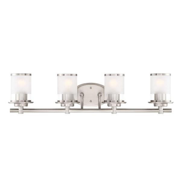 "Designers Fountain 6694 Essence 4-Light 33"" Wide Bathroom Vanity Light - N/A"