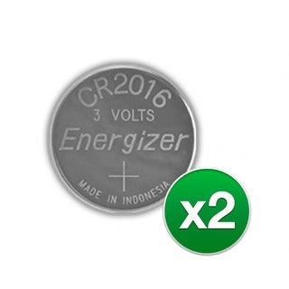 """""""Replacement Battery for Energizer CR2016VP (2-Pack) Replacement Battery"""""""