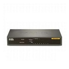 D-Link DES-1008PA 8-Port 10/100 PoE Switch Unmanaged 4 802.3af PoE ports Retail
