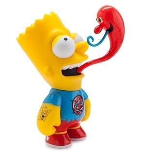 "The Simpsons Bart Simpson Medium 7"" Figure by Kenny Scharf - multi"