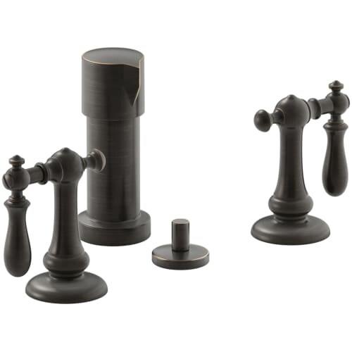 Shop Kohler K 72765 9m Artifacts Vertical Spray Bidet Faucet With