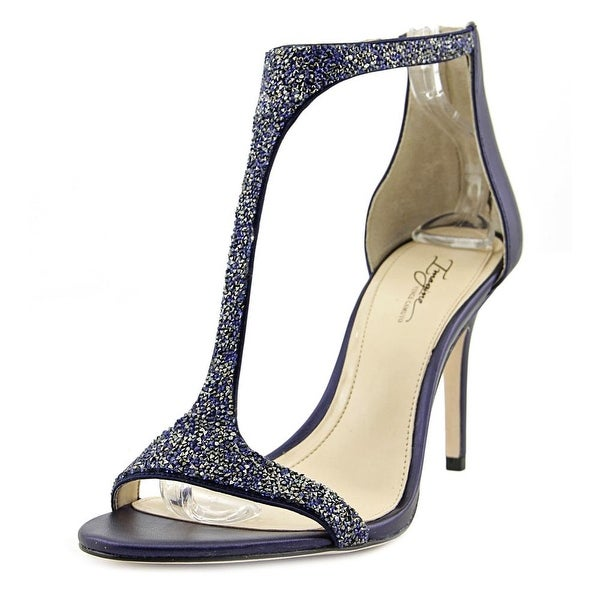 Imagine Vince Camuto Phoebe Women Open-Toe Leather Blue Heels