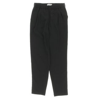 Calvin Klein Womens Ankle Pants Pull On Solid