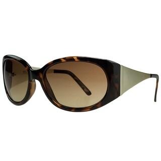 Michael Kors M3401/S 206 Light Havana Rectangular Sunglasses