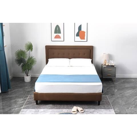 Ceder Uphosltered Platform Bed