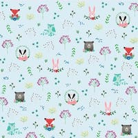 """Forest Friends - American Crafts Animal Single-Sided Cardstock 12""""X12"""" (25/Pack)"""