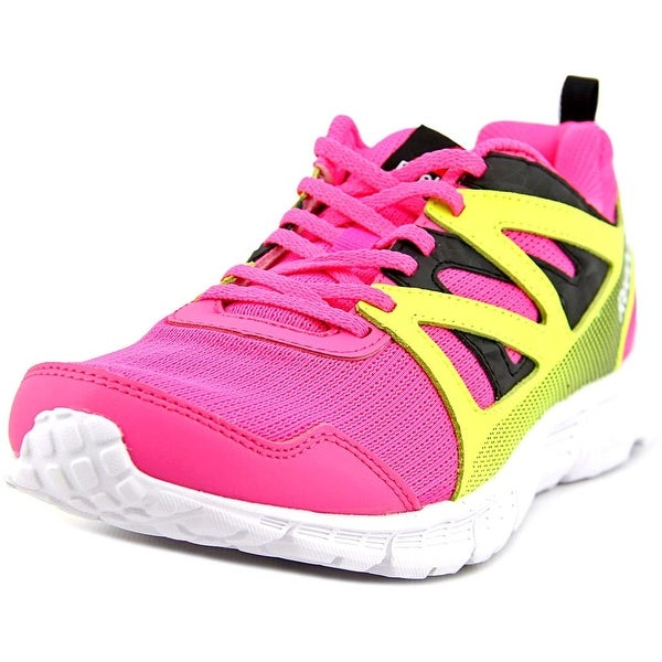 f280e5e4d181df Shop Reebok Run Supreme 2.0 Youth Round Toe Synthetic Pink Running ...