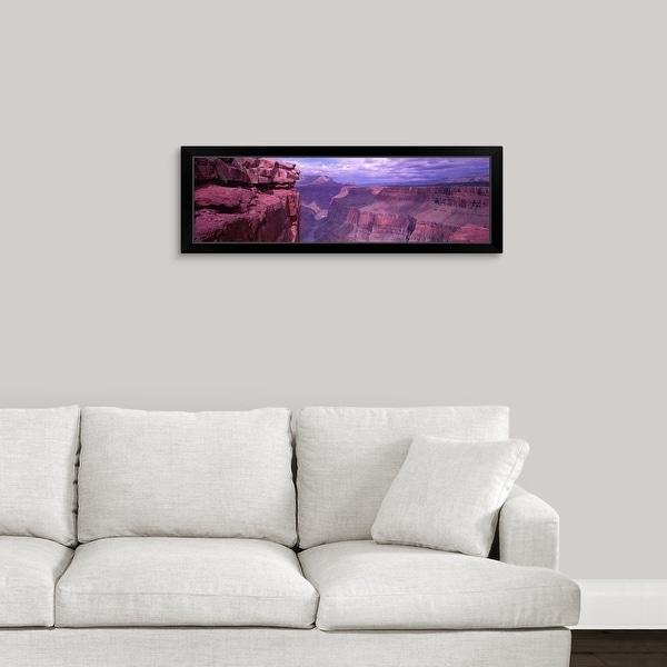 """Grand Canyon National Park AZ"" Black Framed Print"