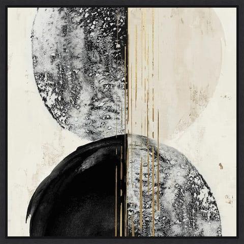 New Balance I by Eva Watts Framed Canvas Art