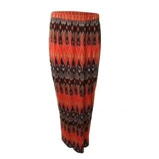 Joie Womens Jersey Pattern Maxi Skirt - S