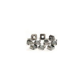 StarTech GV8935 S StarTech M6 Cage Nuts for Server Rack Cabinet Computer Case CABCAGENUTS6