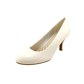 Easy Street Passion Women  Round Toe Synthetic White Heels