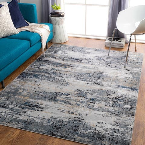 Mesach Abstract Industrial Area Rug