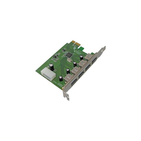 Visiontek USB Expansion Card Visiontek USB 3.0 PCIE Expansion Card - PCI Express - Plug-in Card - 4 USB Port(s) - 4 USB 3.0