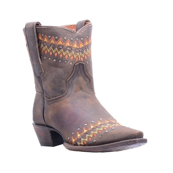 Dan Post Western Boots Womens Autumn Snip Dark Brown