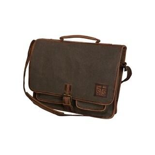 StS Ranchwear Western Handbag Womens Formans Messenger Brown STS34302 - One Size