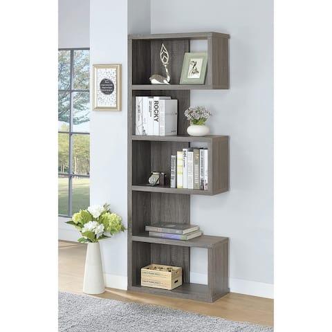 Woodley Casual 5-shelf Bookcase