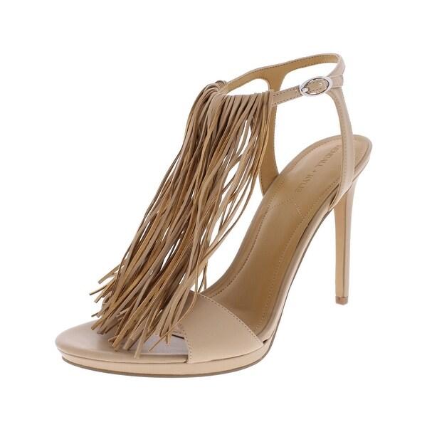508fae9ee82 Shop Kendall + Kylie Womens Aries Heels Fringe Open Toe - Free ...