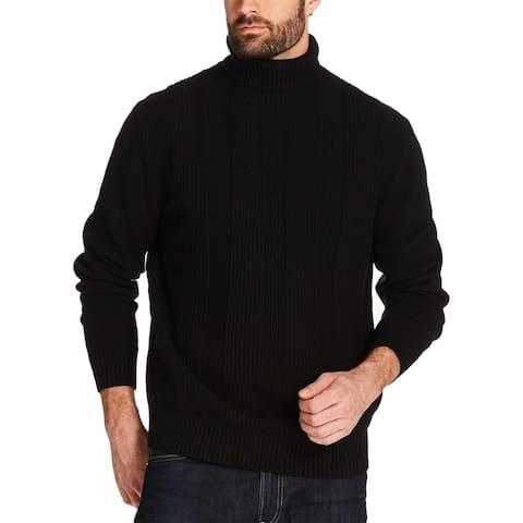 Weatherproof Mens Turtleneck Sweater Ribbed Long Sleeve