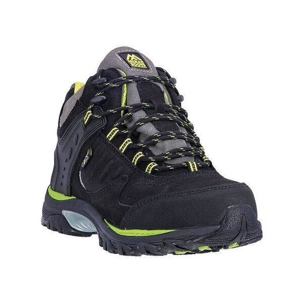 McRae Industrial Work Shoes Mens Lace Up ST Hiker Meta Black