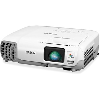 Epson V11H690020 Epson PowerLite W29 LCD Projector - 720p - HDTV - 16:10 - Front, Rear, Ceiling - UHE - 200 W - 5000 Hour -