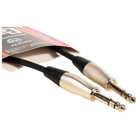 Hosa Technology Hss003 Balanced Trs Male To Trs Male Audio Cable - 3 Ft.