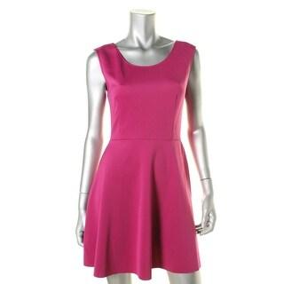 Aqua Womens Stretch Scuba Scuba Dress - M
