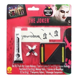 Suicide Squad Joker Costume Make-up Kit Adult One Size - Multi-Colored