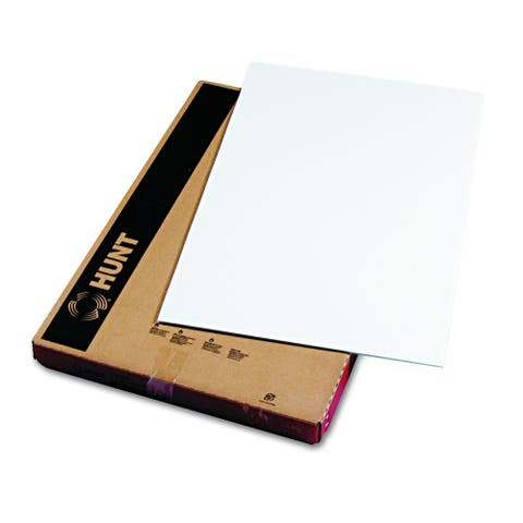 Elmer's 900802 Polystyrene Foam Board, 20 x 30, White Surface and Core (Case of 10)