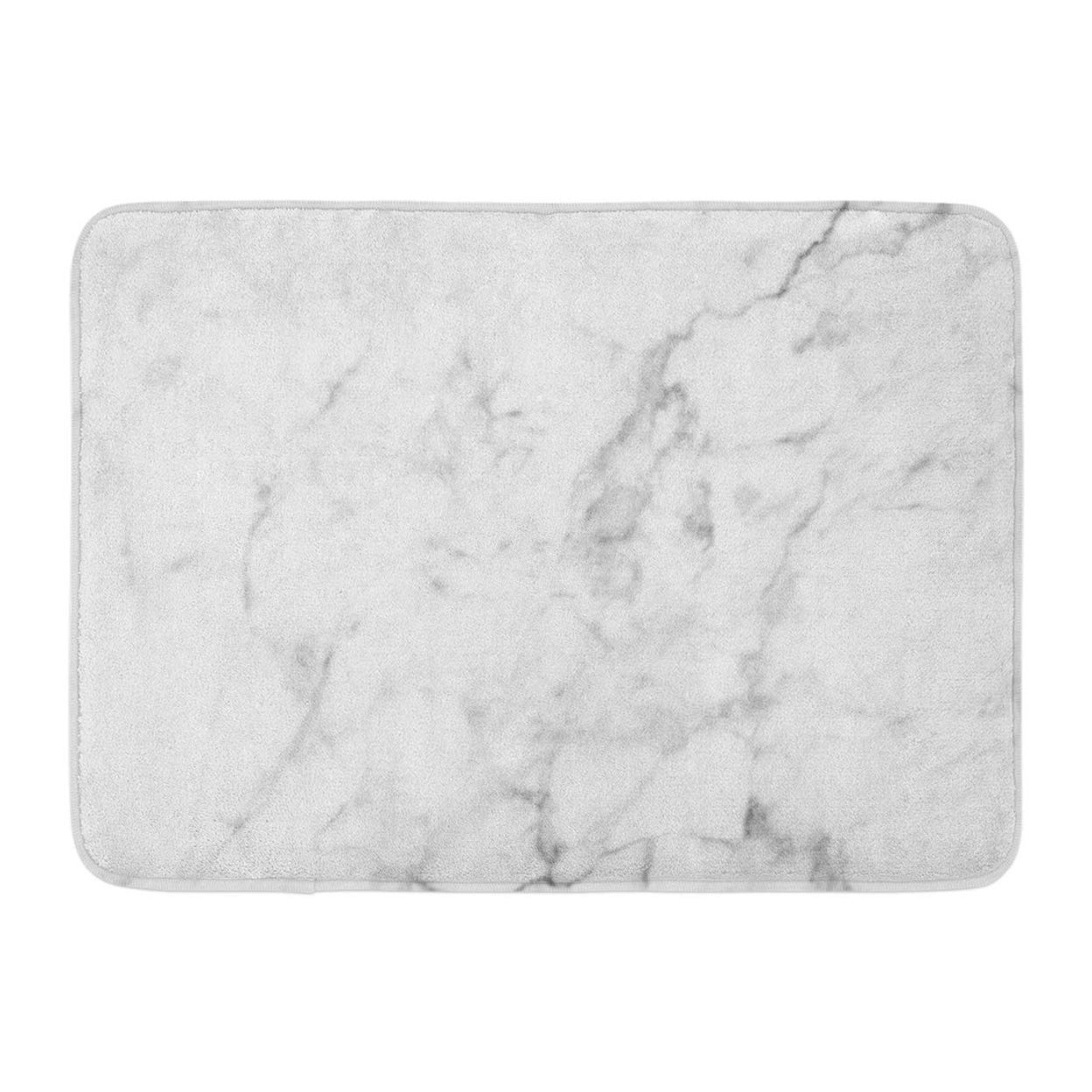 Gray Black Marble Patterned Brown Slab Abstract Ceramic Solid Wave Doormat Floor Rug Bath Mat 23 6x15 7 Inch Multi On Sale Overstock 31776201