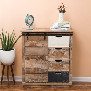 Link to Rustic Sliding One Door Wood Cabinet Similar Items in Living Room Furniture