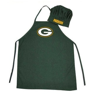 Green Bay Packers Sports Team Logo Apron and Chef Hat