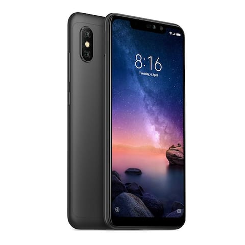 Xiaomi Redmi Note 6 Pro Dual SIM 32GB and 3GB RAM Unlocked Phone Black EU Global Version
