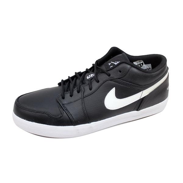 sports shoes 5b4a0 6e762 ... Men s Athletic Shoes. Nike Men  x27 s Air Jordan V 2 Low Leather Black  White-