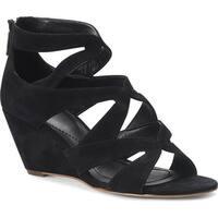 Isola Womens FILISHA Leather Open Toe Casual Strappy Sandals