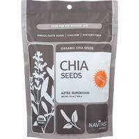 Navitas Naturals Chia Seeds - Organic - Raw - 16 oz - case of 6